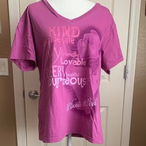 Pink Winnie the Pooh t-shirt